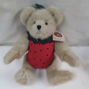 Boyds Bear Hilby Jamm Strawberry